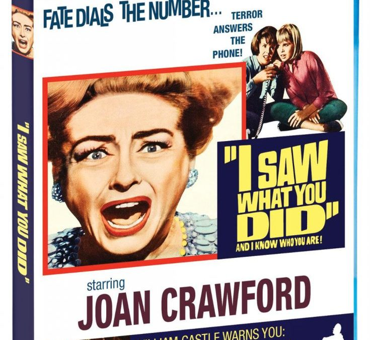 'I Saw What You Did' – Blu-ray Release Info!