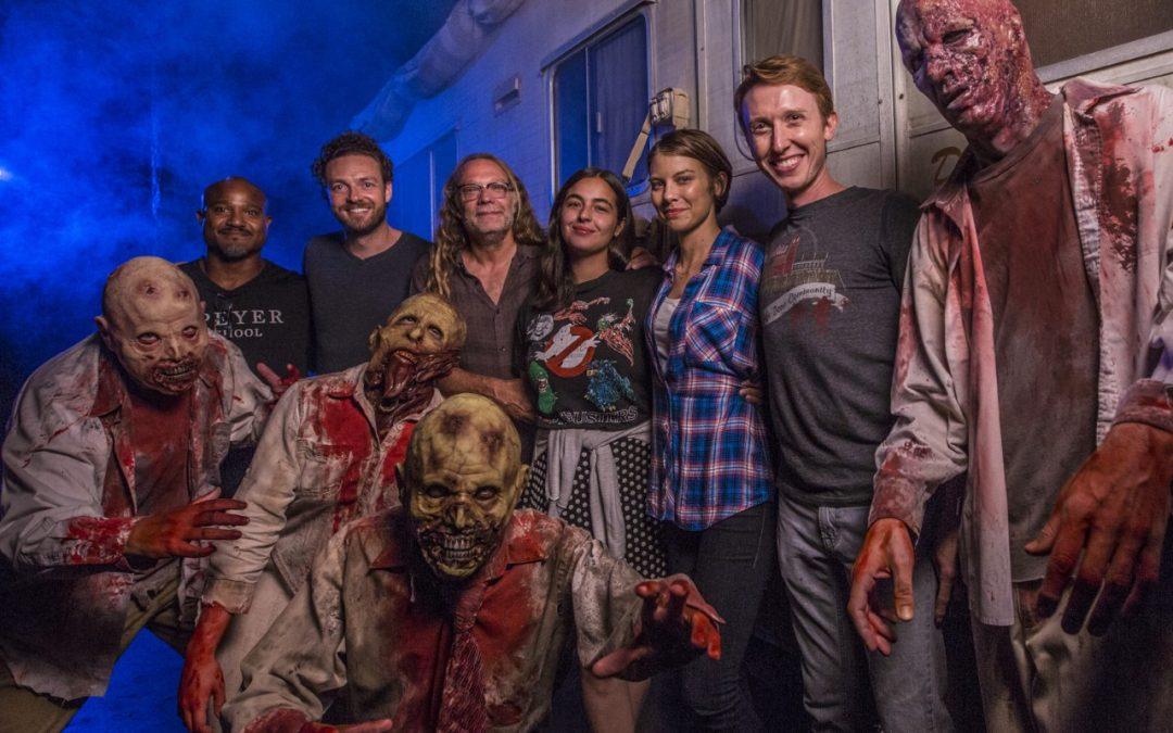 'The Walking Dead' Cast and Greg Nicotero Visit Halloween Horror Nights at Universal Orlando Resort!