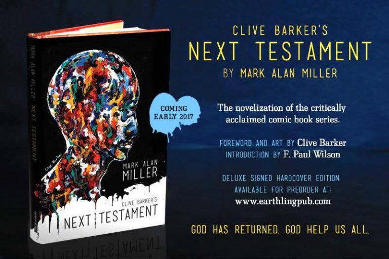 Preorder Clive Barker's 'Next Testament' Now!