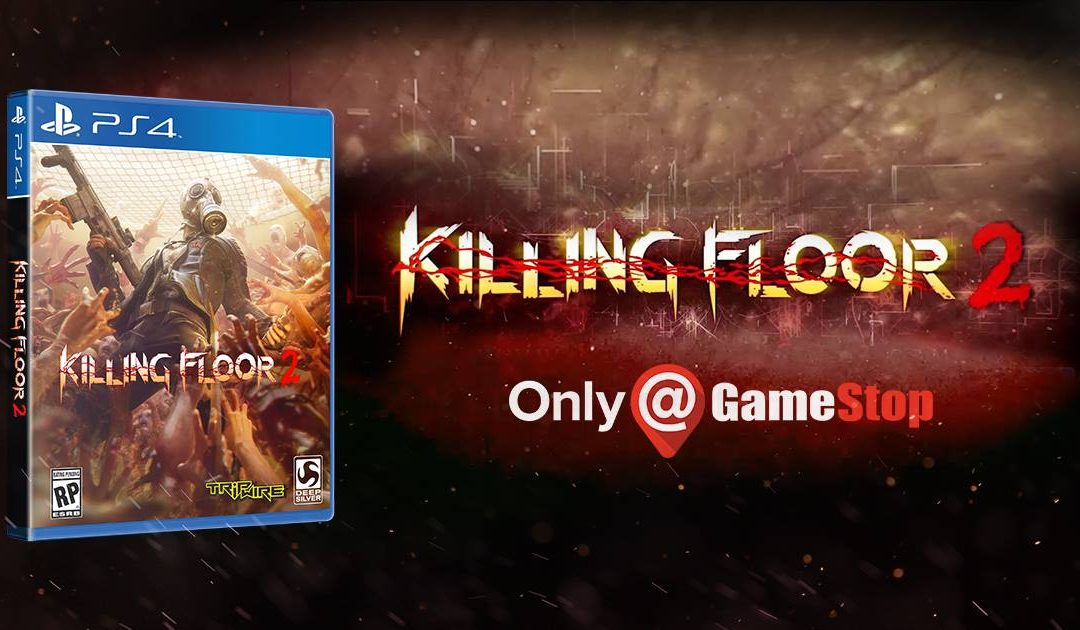 'Killing Floor 2' Coming Soon To PlayStation 4 And PlayStation 4 Pro