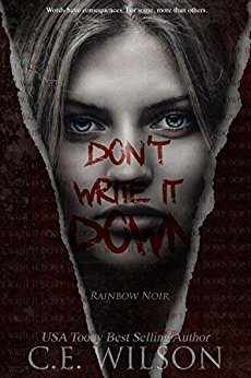 Don't Write It Down: Episode One in the Rainbow Noir Series – Book Review