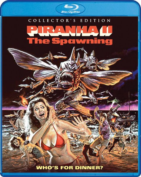 The New Release Date for 'Piranha II: The Spawning' Has Been Revealed
