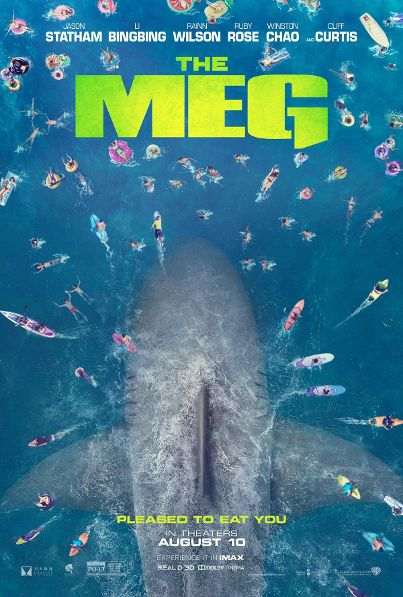Take a Bite Out of the Trailer for 'The Meg!'