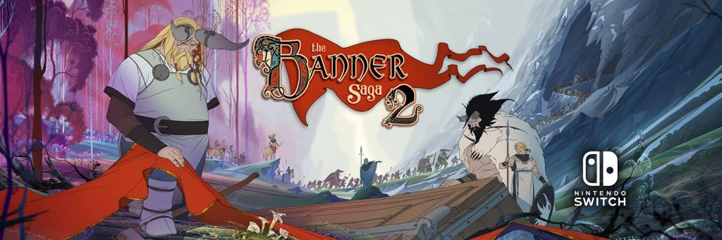 Sequel to Award-Winning Indie Hit 'The Banner Saga' Out Now on Nintendo Switch
