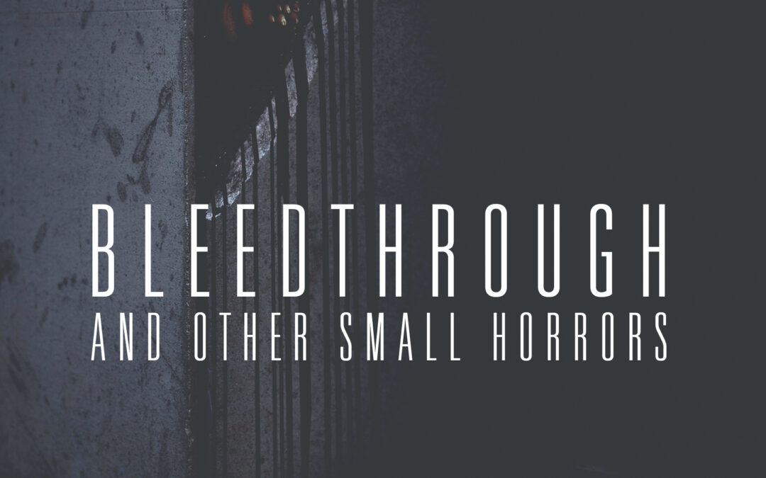 Book Review: BLEEDTHROUGH AND OTHER SMALL HORRORS